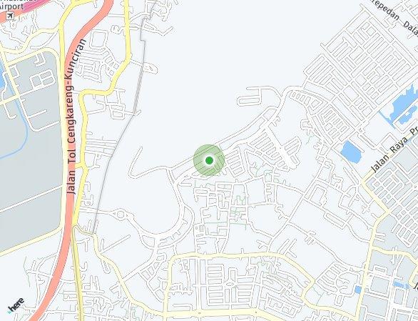 Peta lokasi Aeroworld Citra 8