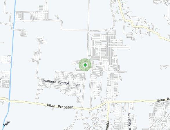 Peta lokasi Savana Indah