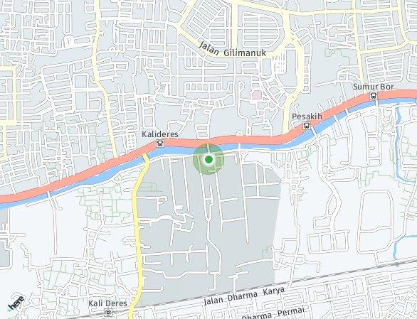 Peta lokasi Daan Mogot City