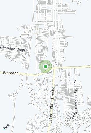 Peta lokasi Grand Mahkota