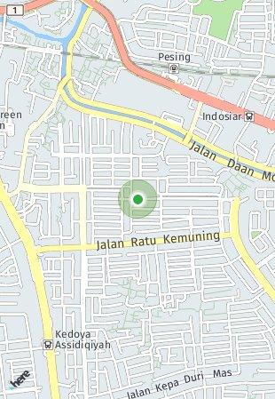 Peta lokasi Angel Residence