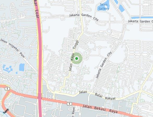 Peta lokasi Wisteria