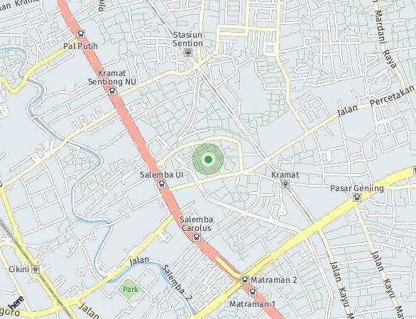 Peta lokasi TestRook Project 04192021