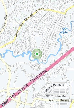 Peta lokasi The Riviera