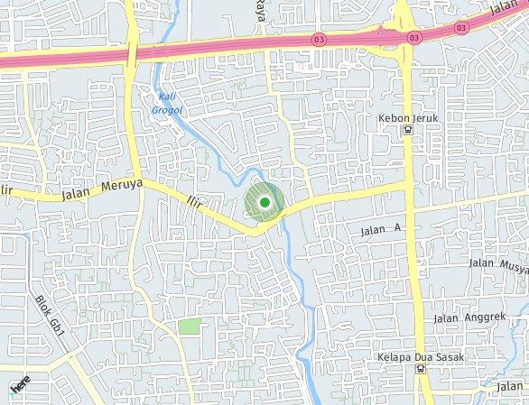 Peta lokasi Maqna Residence