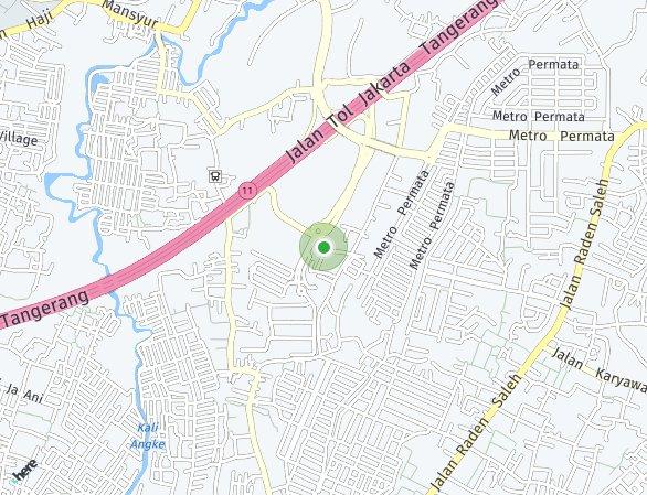 Peta lokasi Heritage Residence at Puri 11