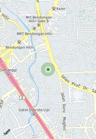 Peta lokasi Ciputra World 2 Apartemen