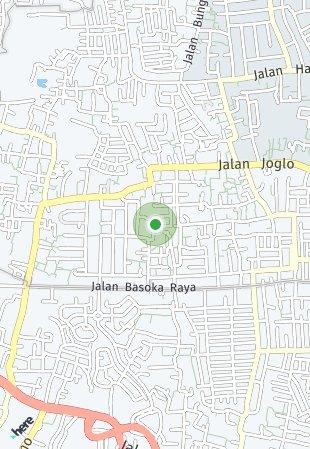 Peta lokasi Ruma Joglo