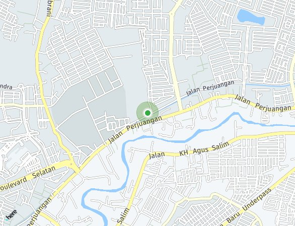 Peta lokasi Cluster Olive Residence at Summarecon Bekasi