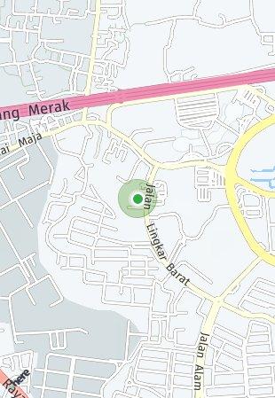 Peta lokasi Paddington Heights at Alam Sutera