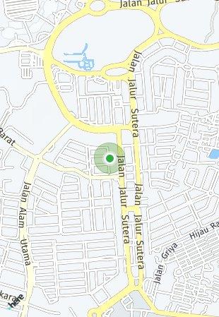 Peta lokasi Alam Sutera