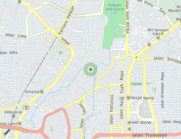 Peta lokasi The Padmayana Apartemen
