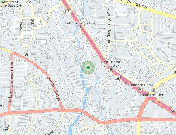 Peta lokasi Avania