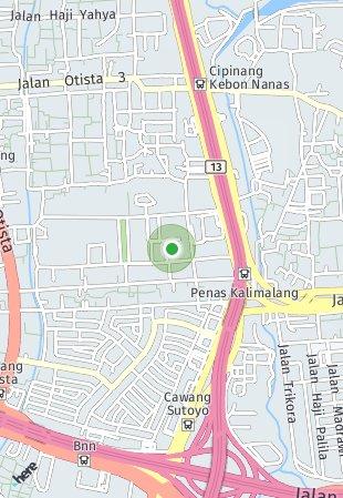 Peta lokasi Tamansari Skyhive Apartment