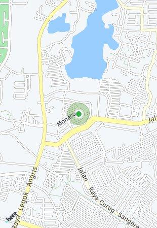 Peta lokasi Ruko Arcadia Grande