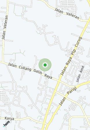 Peta lokasi Paramount Petals