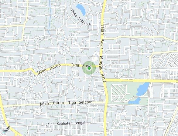 Peta lokasi The Loggia