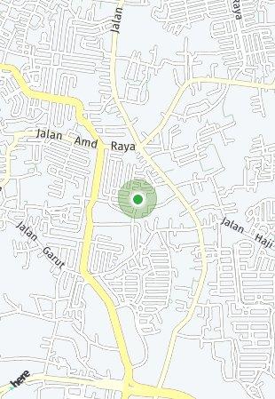 Peta lokasi Bintaro Parkview