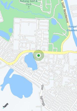 Peta lokasi Rainbow Springs