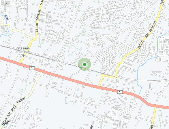 Peta lokasi Sinar Gading Residence