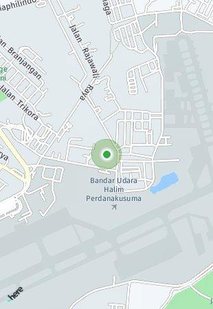 Peta lokasi Matsu @Shinano Jakarta Garden City