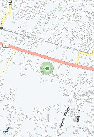 Peta lokasi Asera One East at Kota Harapan Indah
