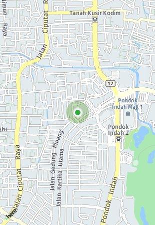 Peta lokasi Pondok Indah Residences