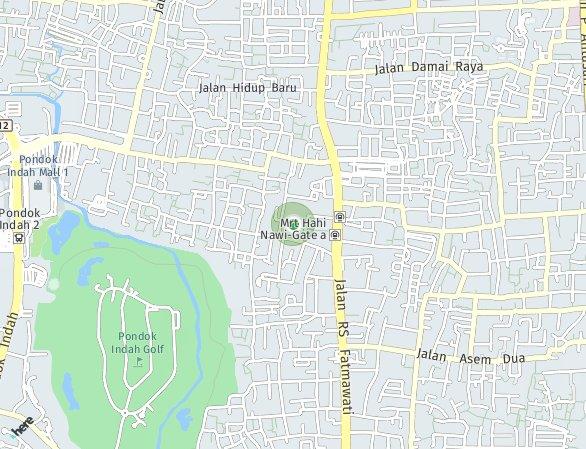 Peta lokasi Crystal Aparthouse