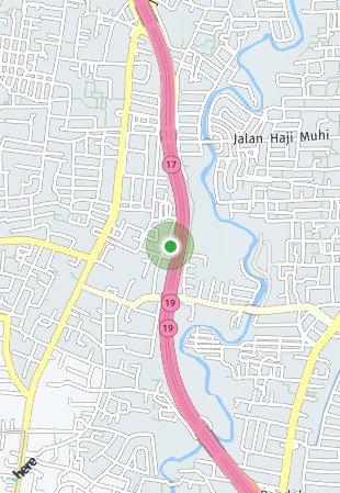 Peta lokasi Palma at Pinang Residences