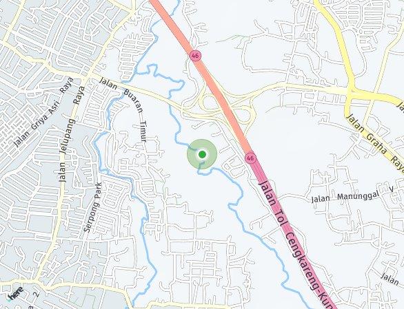 Peta lokasi Grand Pinang Parigi