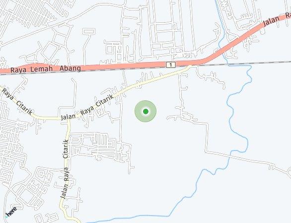 Peta lokasi Ginza Business Loft
