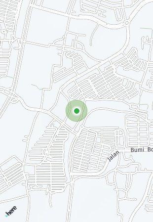 Peta lokasi BSD City - Aether 3
