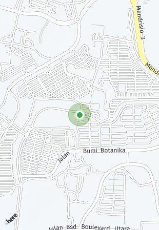 Peta lokasi BSD City - Fleekhauz