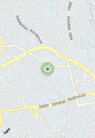 Peta lokasi The Arcadia Bintaro