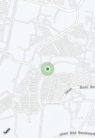 Peta lokasi BSD City – Aether 2