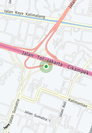 Peta lokasi Ruko Vasanta Innopark