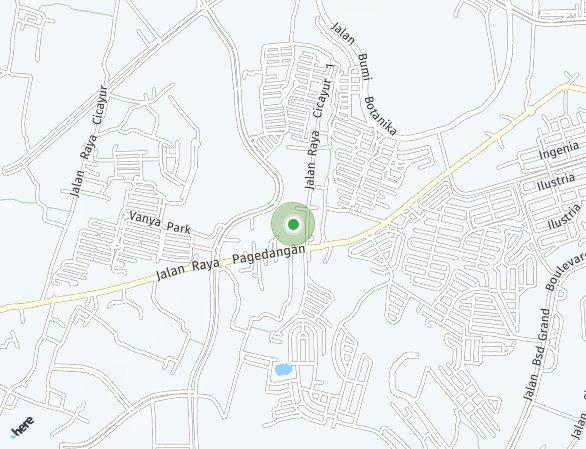 Peta lokasi PROMO BSD CITY: Move-In Quickly