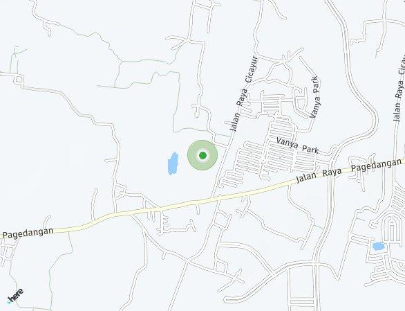 Peta lokasi BSD City - Azura Starlight