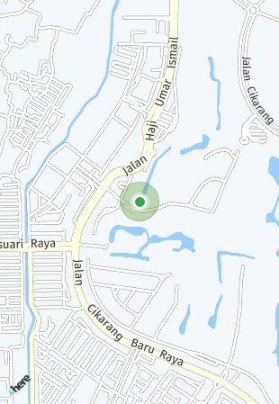 Peta lokasi Sevilla Town House at Jababeka