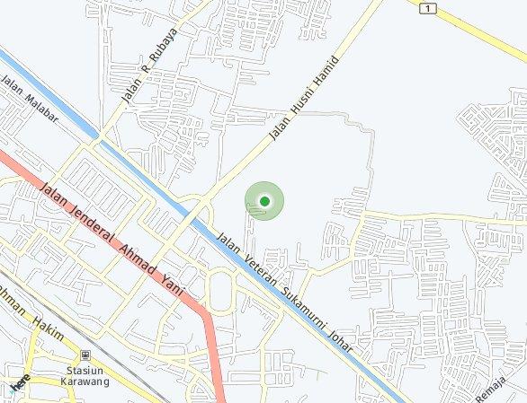 Peta lokasi Arsa Residence