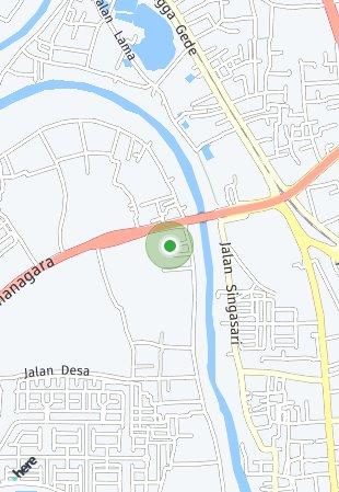 Peta lokasi Taruma Karawang