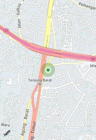 Peta lokasi Southgate Residence