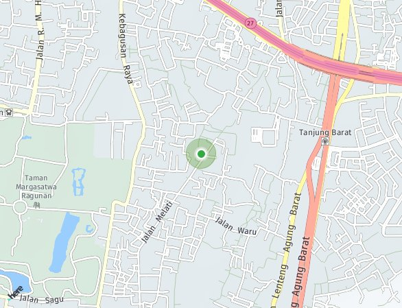 Peta lokasi Urban Signature LRT City