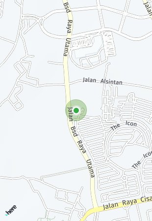 Peta lokasi Freja House