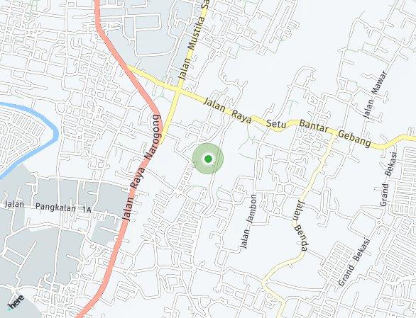 Peta lokasi Beranda MAS
