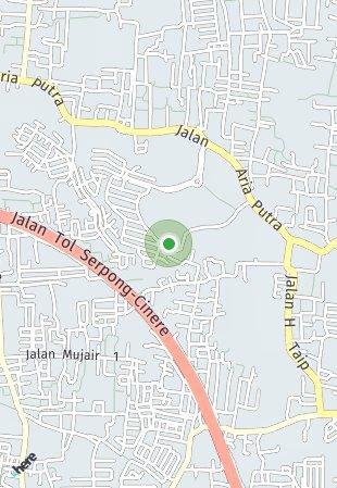 Peta lokasi The Bay Ciputat
