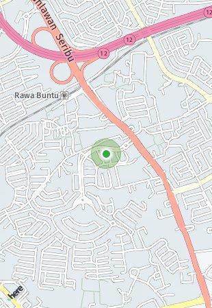 Peta lokasi BLV The Latinos