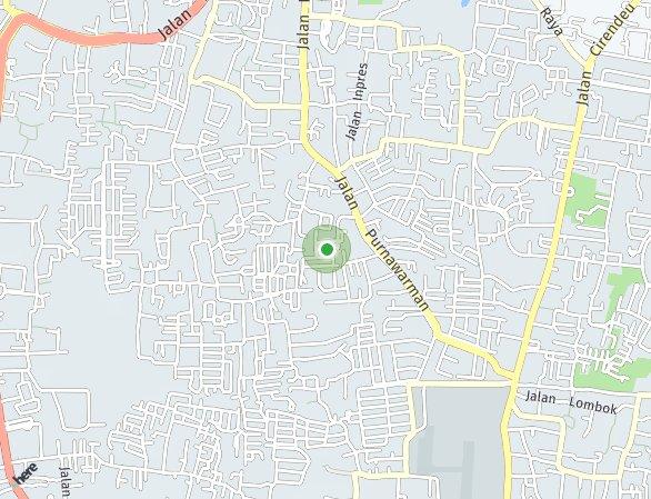 Peta lokasi Synthesis Homes