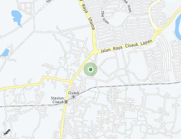 Peta lokasi BSD City – Capital Cove