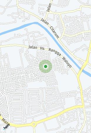 Peta lokasi Mahkota Regency Karawang